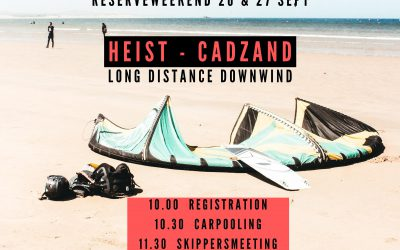 26 (27 res.) sept.: NO GO voor All Kiters Downwind