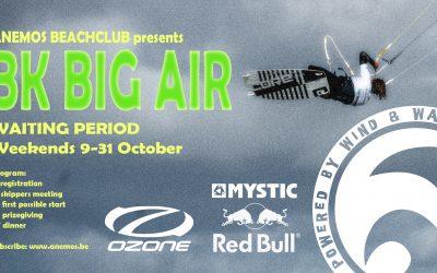 Waiting period WE 9 – 31 okt: BK Big Air
